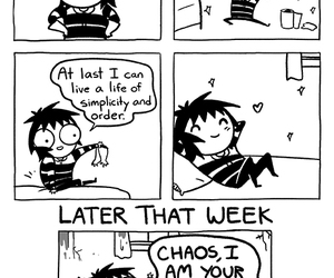 funny, comic, and sarah andersen image