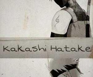 kakashi, naruto, and wallpaper image