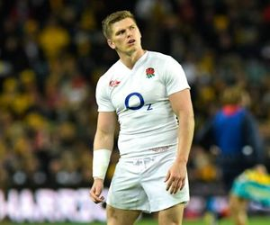 rugby, saracens, and owen farrell image