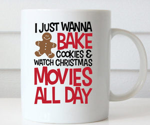 coffee mugs, christmas coffee, and cute mug image