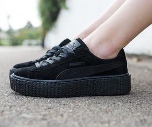 black, creepers, and puma image