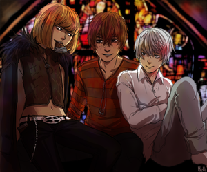 anime, death note, and anime guys image