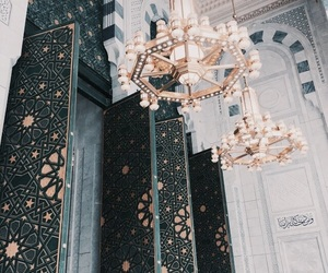 architecture, interior, and islam image