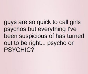 boys, i hate you, and psychic image