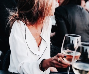 fashion, style, and wine image
