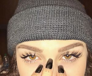 maggie lindemann, eyes, and beauty image
