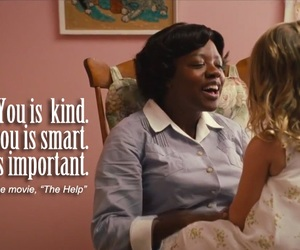 the help, smart, and important image