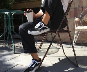 fashion, vans, and style image