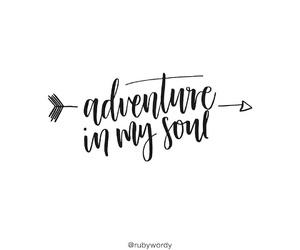 adventure, handwriting, and inspiration image