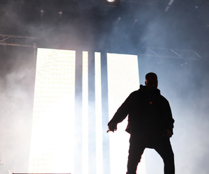 contrast, kanye, and light image