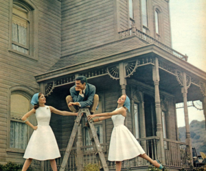 Psycho, anthony perkins, and 60s image