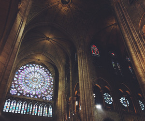 cathedral, france, and notre dame image