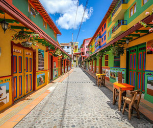 colombia, colorful, and guatape image