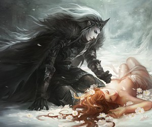 hades, persephone, and art image