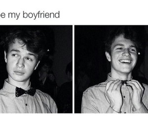boyfriend and ansel elgort image