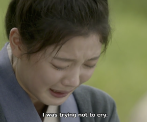 cry, sad, and kdrama image