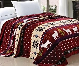 christmas and bedroom image