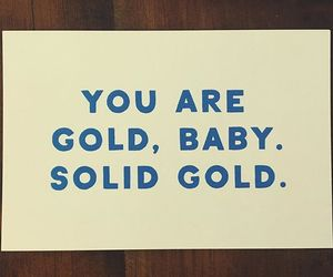 gold, Lyrics, and quote image