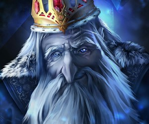 adventure time, ice king, and hora de aventura image