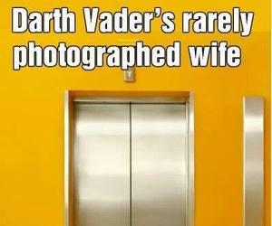 funny, star wars, and darth vader image