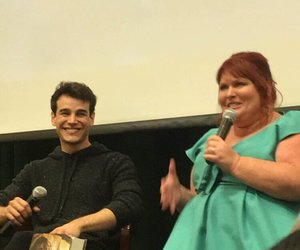 cassandra clare, simon lewis, and shadowhunters image