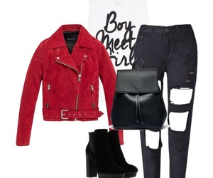 autumn, boots, and Polyvore image