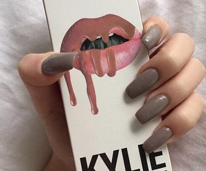 cosmetics, grey, and kylie image