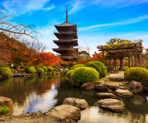 japan, kyoto, and traveling image