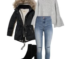 boots, november, and parka image