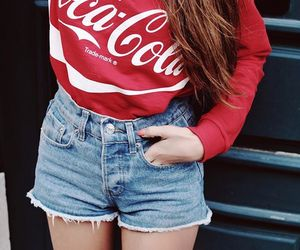 clothes, coke, and fashion image