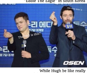 hugh jackman, kpop, and south korea image
