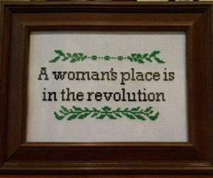 feminism, revolution, and woman image