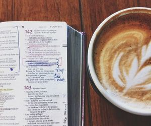 bible, chill, and coffee image