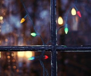 light, christmas, and window image