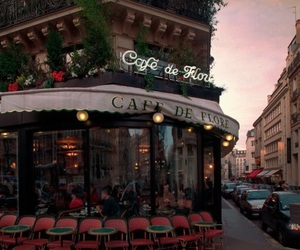 cafe, coffee, and city image