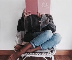 book, fashion, and girl image