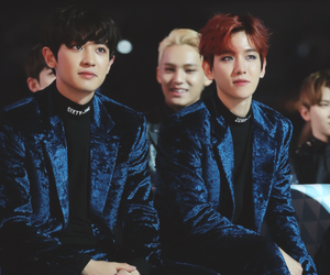 exo, baekhyun, and chanyeol image
