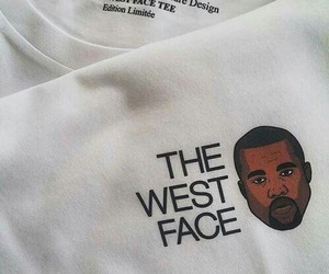 kanye west, West, and white image