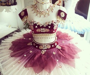 ballerina, ballet, and costume image