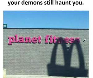 funny, meme, and demons image