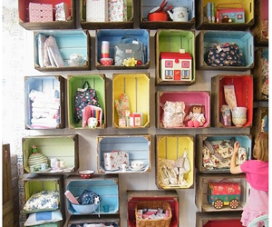 diy, boxes, and recycle image