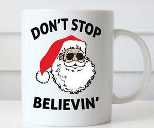 christmas, cute mug, and custom mug image