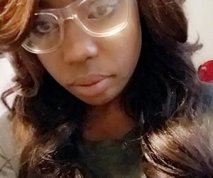 glasses, hair, and osha image