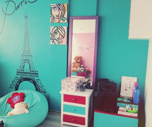 decoration, girly, and room image