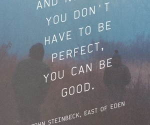good, john steinbeck, and quotes image
