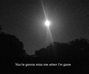 gone, Lyrics, and miss image