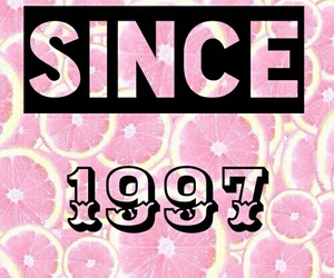 1997, 90's, and pink image