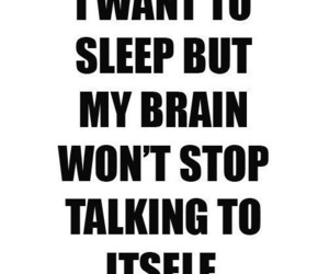 sleep, brain, and quote image