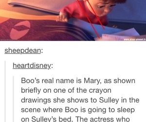 boo, disney, and mary image
