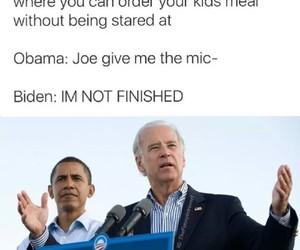 funny, obama, and joe biden image